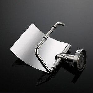 Image 5 - Vệ Sinh Inox 304 Đựng Giấy Cuộn Giấy Giá Phụ Kiện Phòng Tắm Chải & Gương Chrome Đánh Bóng 2 Sự Lựa Chọn