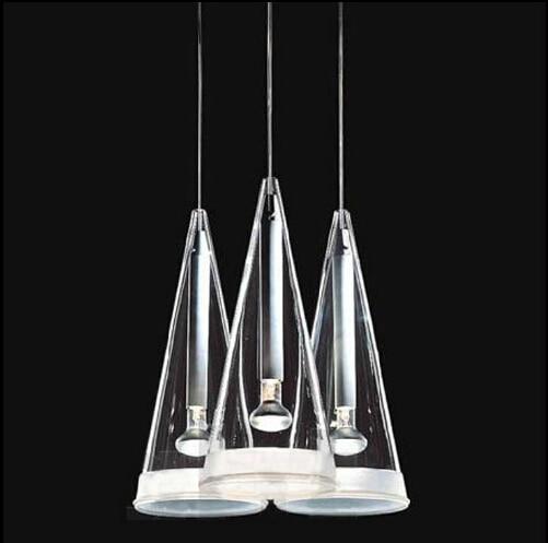 new novel creative design glass vorin lampshade 16*30cm led E14 1/3/6/8/12 heads pendant light living room dining room lamp 1577 автоинструменты new design autocom cdp 2014 2 3in1 led ds150