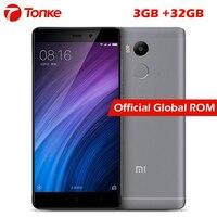Original Xiaomi Redmi 4 Pro Prime 3GB RAM 32GB ROM 4100mAh Snapdragon 625 Octa Core 4G