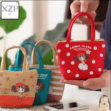 XZP New Fashion Little Children's Coin Purse Canvas Cute Mini Sweet HandBag Lovely Crossbody Shoulder Bag Wallet for Girls