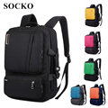 "Socko marca mochila bolso mensajero para laptop de 15 "", 15.6"", 17 pulgadas, 17.3 ""notebook bag, packsack, school travel bag, envío gratis bp01"