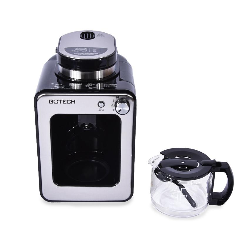 CM6686A máquina de café casa automática de Cachemira una máquina de café americano máquina de molienda de olla 220 V/600 W Guanqin automático Reloj Mecánico Tourbillon Esqueleto reloj de deporte impermeable reloj automático reloj hombre reloj masculino