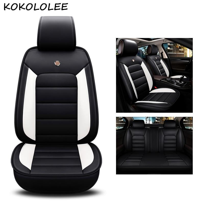Kokololee cuoio dell'unità di elaborazione copertura di sede dell'automobile Per chevrolet captiva kia rio 2018 seat cordoba bmw x5 e70 x3 car styling accessori auto