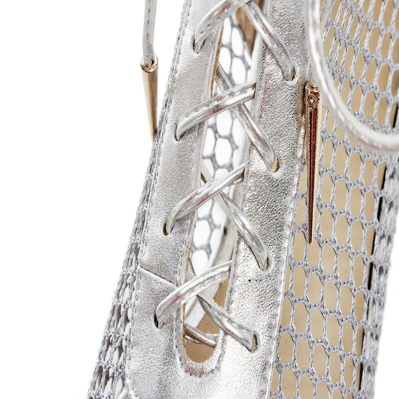 Bottes 5 Chaussures Chelsea De 42 43 argent Cuir Cm Véritable Talons Noir Bas Partie Grande Luxe Taille Femmes En Cheville D'été 3 Dames qUGzMSVp