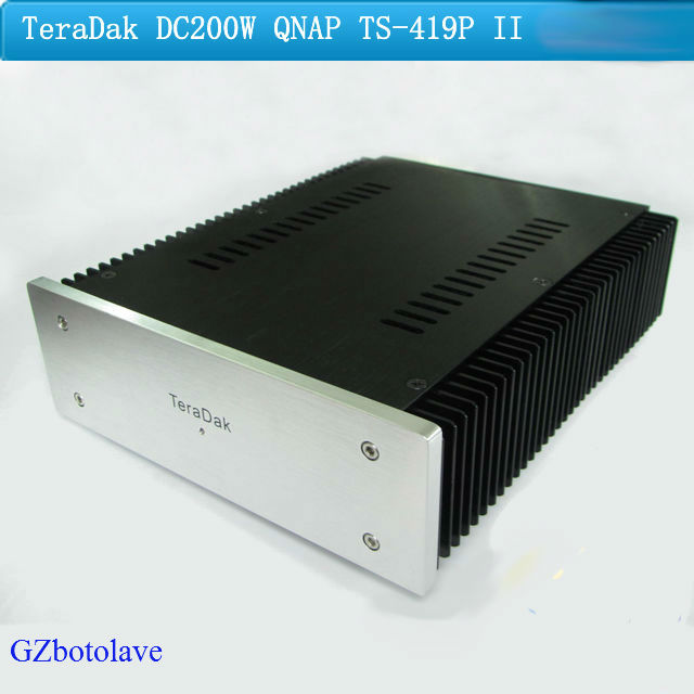 TeraDak DC-200W QNAP TS-419P II 12V/13A HiFi linear power supply teradak dc 30w 6v 3a arcam rdac linear power supply