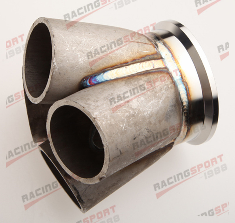 Vibrant Stainless Steel 4-1 Turbo Manifold Merge Collector 3