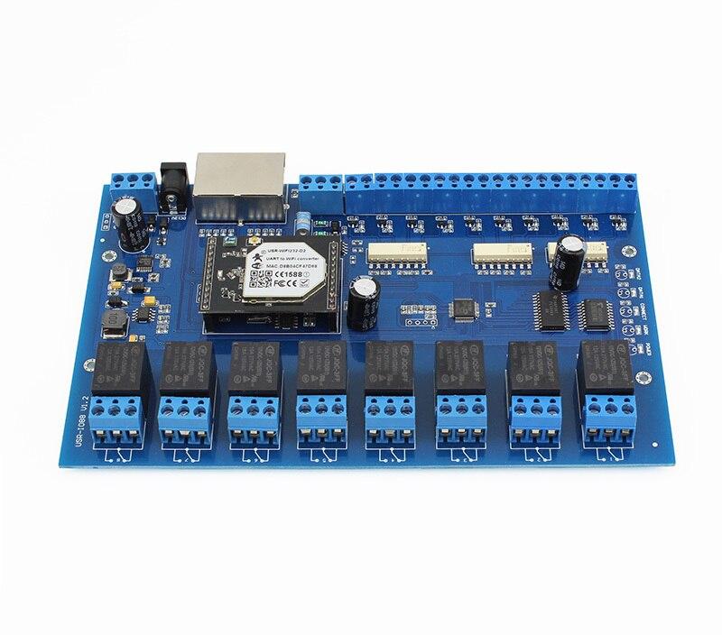 WIFI TCP/<font><b>IP</b></font> Network relay module remote control <font><b>switch</b></font> mobile <font><b>phone</b></font> control relay