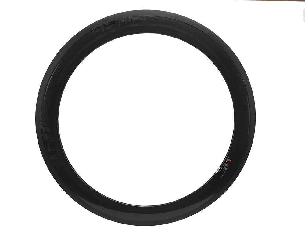 60mm/88mm pleine jante en carbone x20.5/23mm pneu tubulaire 20/24 trous route piste vélo jante 700C brillant ou mat