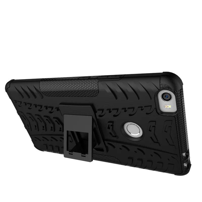 Xiaomi Mi MAX Case TPU- ի և PC- ի կրկնակի զրահապատ - Բջջային հեռախոսի պարագաներ և պահեստամասեր - Լուսանկար 3