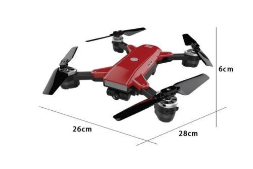 Feichao 19HW Folding Quadcopter RC Aircraft 200W Wide-angle Camera Drone Headless Model