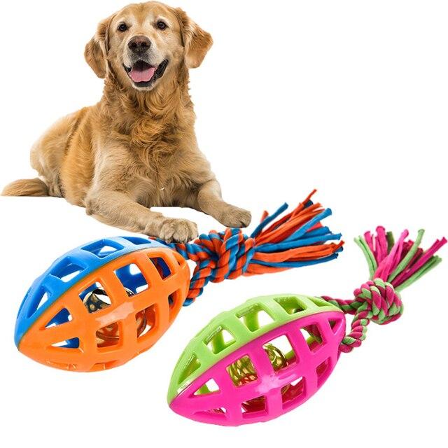 2019 cuerda de perro mascota Indestructible juguetes para masticar perros de juguete de masticar perros de goma Indestructible squeaking sonido Squeaky juguetes de algodón