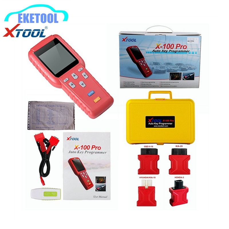 High Quality XTool X100 Pro Auto Key Maker Read Keys Data Immobilizer Programming Remote Controller X 100 Pro Plus Express Fast
