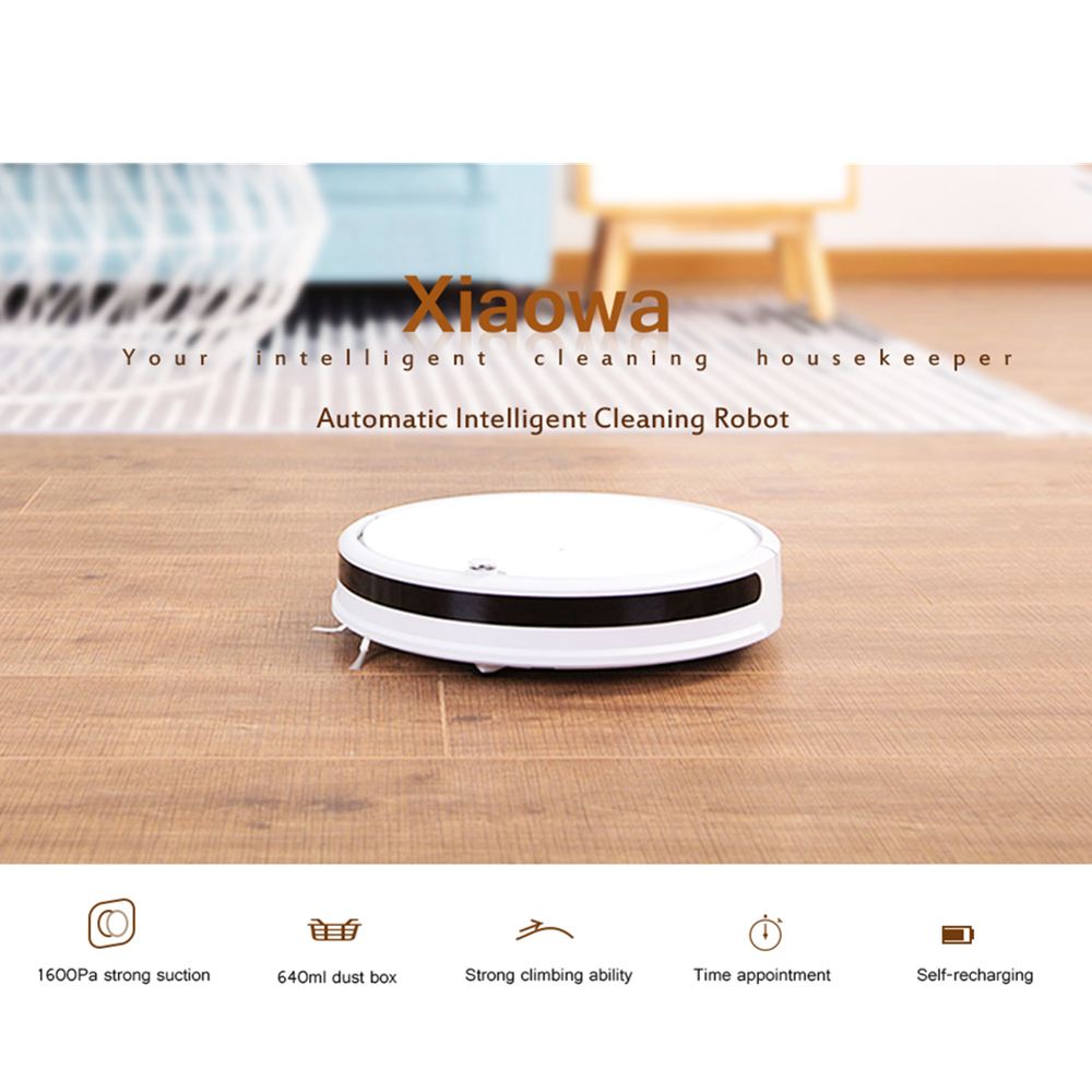 Robotic Vacuum Cleaner Automatic Intelligent Cleaning Robot Vacuum Cleaner Xiaowa Smart Wireless Home Appliances цена