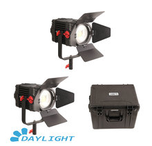 2 Pcs CAME TV Boltzen 150 w Fresnel Focusable Luce Diurna A LED Kit