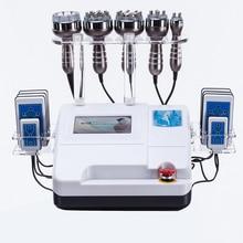 2019 40k RF Skin Care Salon Spa Equipment Ultrasonic liposuction Cavitation 8 Pads LLLT lipo Laser Slimming Machine Vacuum 40k cavitation rf lipo vacuum body rf face rf with infrared salon equipment