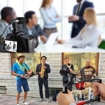 3.5mm Real-time Monitoring Cardioid Stereo Phone Microphone Video Camera Interview Mic Condenser Recording Microphone For Gopro 3.5mm Real-time Monitoring Cardioid Stereo Phone Microphone Video Camera Interview Mic Condenser Recording Microphone For Gopro 2