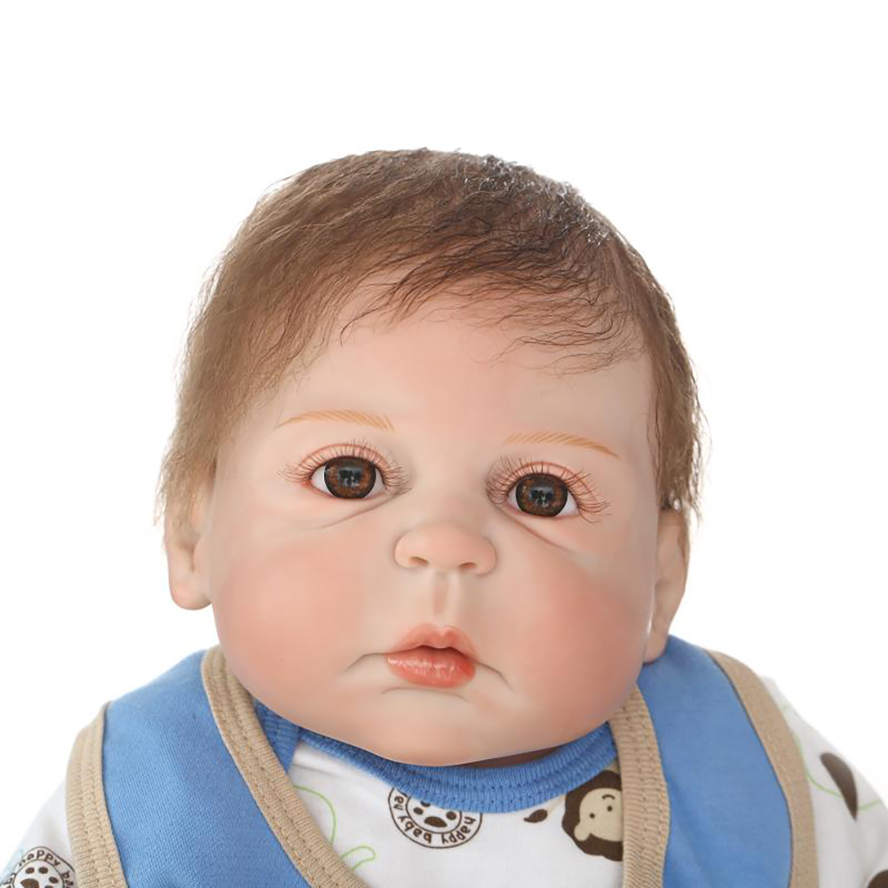 NPK Lifelike Reborn Baby Dolls 57 cm Full Vinyl Body Baby Doll Waterproof Girl Toy Looks Like Pink Cats bebe kids Xmas Gift