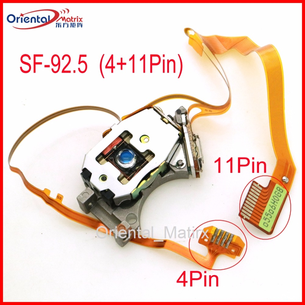 Free Shipping Original SF-92.5 ( 11P +4P ) Connection Optical Pick UP SF92.5 4/11 Pins Car CD Laser Lens Optical Pick-up