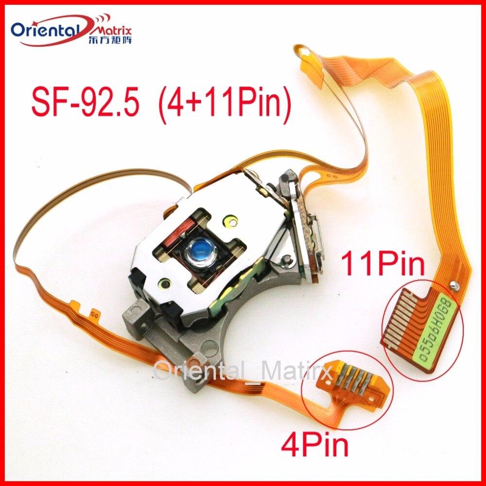 Livraison gratuite SF-92.5 d'origine (11 P + 4 P) connexion optique Pick UP SF92.5 4/11 broches voiture CD Laser lentille optique Pick-UP