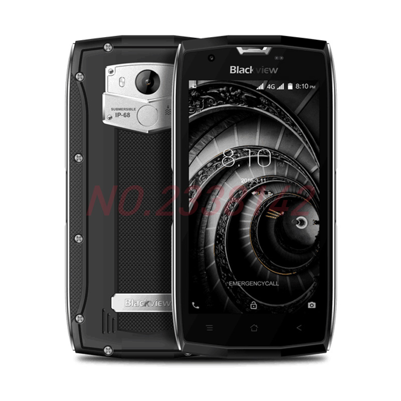 Blackview BV7000 Pro Smartphone 4G Waterproof IP68 5.0FHD MT6750T Octa Core Android 6.0 Mobile Phone 4GB+64GB 13MP cell phone