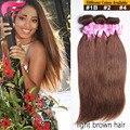 7А Филиппинский Девы Волос 4 Связки Rosa Продукты Волосы Прямые Человека волосы Соткать На Продажу Бирманский Девственница Волосы Прямые 1B #2 #4 #