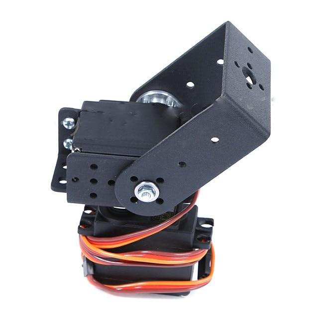 1set 2 Dof Short Pan And Tilt Servos Bracket Sensor Mount Kit For Arduino Diy Robot Compatible High Toruqe 995 996 Servo Rc Toy Careful Calculation And Strict Budgeting Remote Control Toys