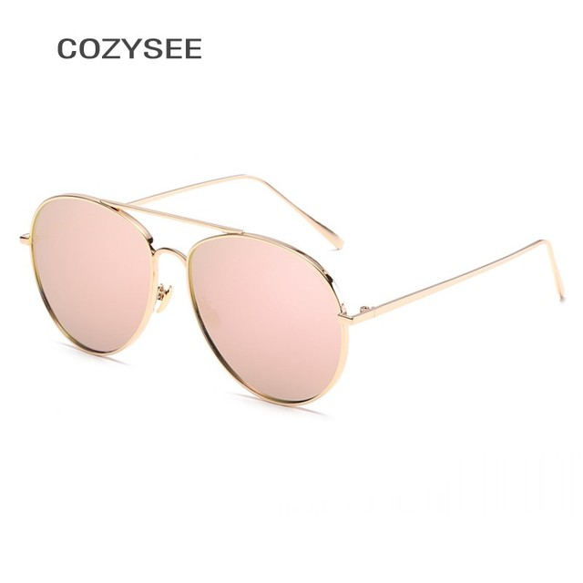 144d49a013a Pink Sunglasses Pilot Women Big Frame Cat Eye Fashion Shades UV400 Vintage Driving  Sun Glasses