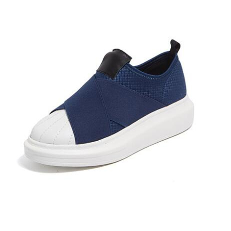 De forme blue Tenis Mujer Femmes Mode Vrouw Top Nouveau Dames Feminino Appartements Chaussures Femme Casual Superstar Zapatos Plate Schoenen Sneakers Black xf1x78Rw