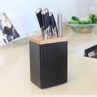 kitchen knife rack Storage rack wall mounted knife holder chopsticks tube rack free punching save home space