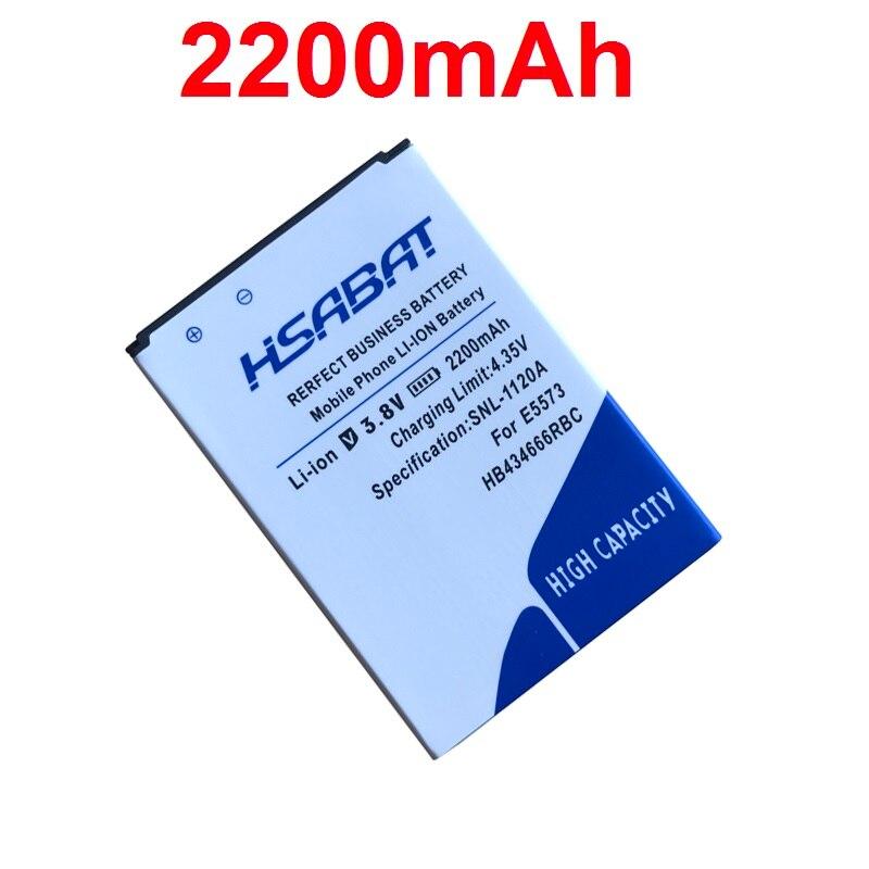 HSABAT 2200mah Battery E5573 Huawei HB434666RBC For E5573/E5573s/E5573s-32/..