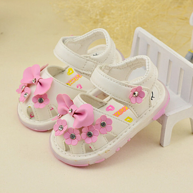 New 2016 Arrival Summer Cute Baby Girls Sandals Princess Flowers Toddlers  Kids Shoe Toddler Baby Girl Shoes Kids Toddler Sandals a2e5eb2a6