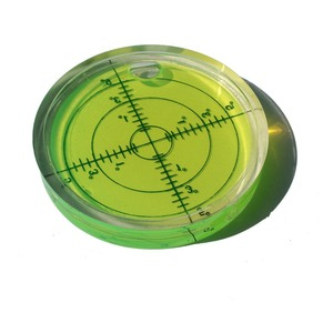 Image 4 - Universal Level Bubble Diameter 66mm Height 10mm Degree Mark Surface Round Circular Spirit Level 1PCS