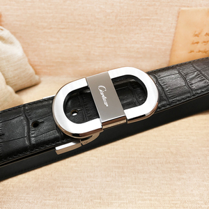 Image 4 - 2020 ciartuar official store luxury new fashion designer men belt high quality genuine leather cowskin for trouser free shipping