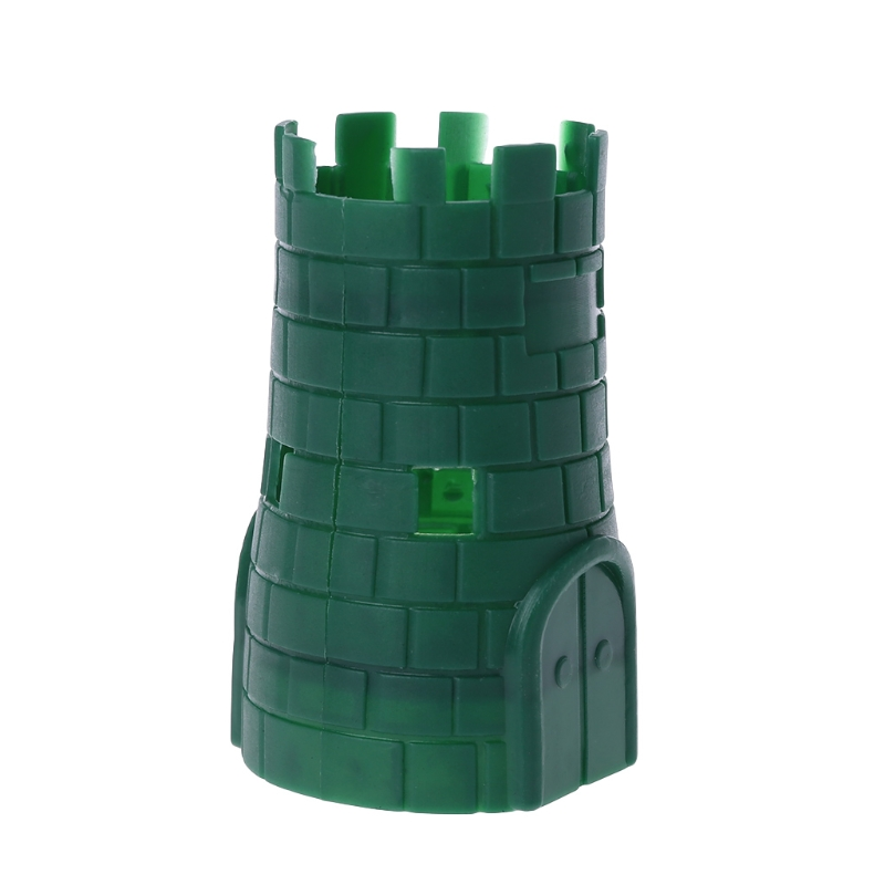 3x4x6 size Lego Castle WALL PANEL Turret LOT of 2 pcs Dark Gray-30246