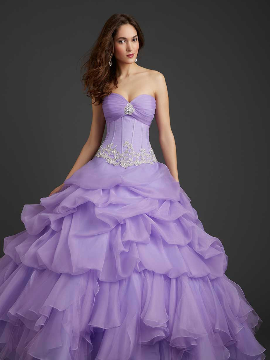 Light Purple Quinceanera Dress
