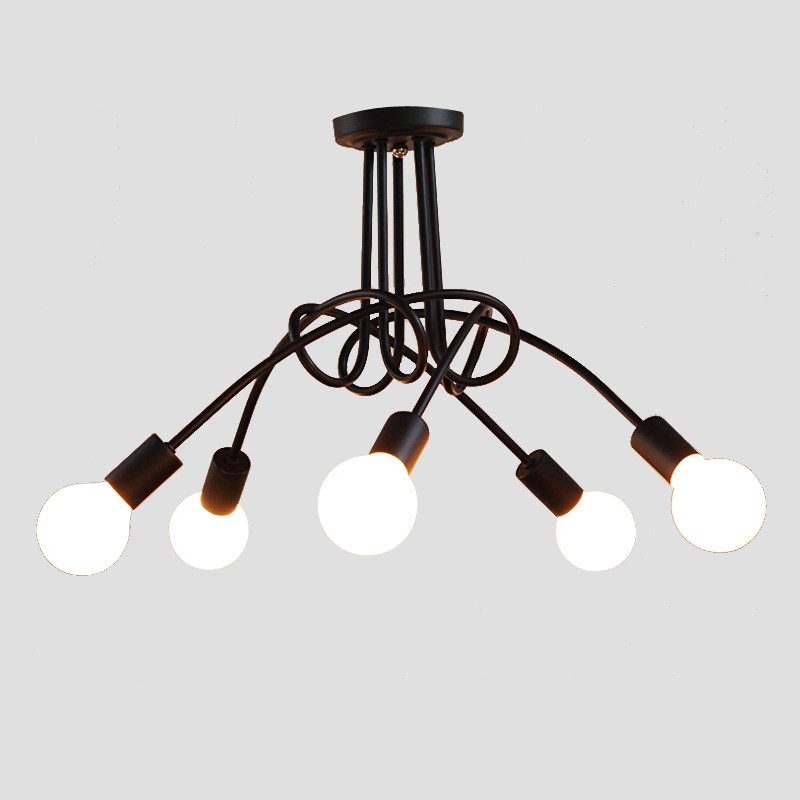 ФОТО Modern LED Ceiling Light Simple European Personalized Creative Lamp Living Room Hanging Lamp Light Fixture luminaria avize