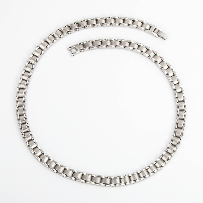 купить 38 Magnet Male Necklaces Health Benefits Arthritis Bio Energy Healing Stainless Power Necklace For Women Germanium Necklace по цене 3854.78 рублей