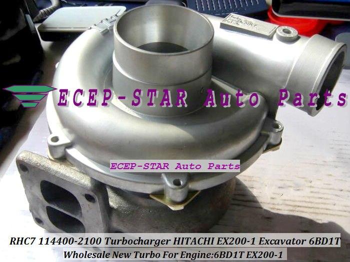 NEW RHC7 114400 2100 1 14400 2100 NH170048 TURBO TURBINE Turbocharger Fit For HITACHI EX200 1