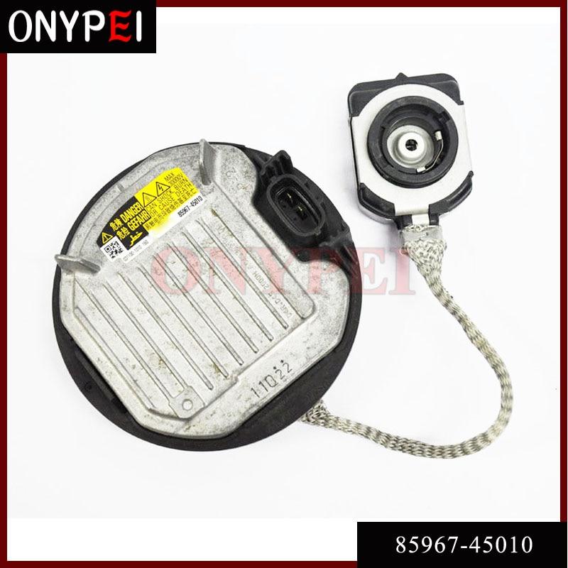 85967-45010 HID Headlight D4S D4R Ballast Control Unit For Toyota RAV4 Reiz 8596745010