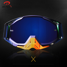 Jiepolly Multicolor Frame Cycling Sunglasses Mountain Bike MTB Road Goggles Motocross ATV Pit Bike off-Road Windproof Glasses