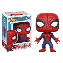 FUNKO POP The Avengers 3: Infinity War & 10cm SPIDER-MAN PVC action Figures collection model toys for children birthday gift(China)