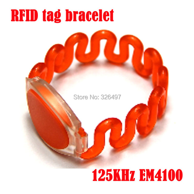 20pcs Id Silicone Wristband Rfid Bracelet Waterproof 125khz Em4100 Tk4100 Key For Access Control Caed Bracelets
