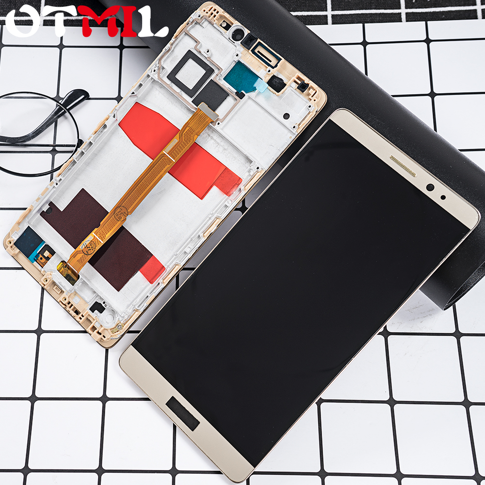 Original 6.0LCD For HUAWEI Mate 8 LCD Touch Screen Frame Digitizer Replacement For HUAWEI Mate 8 Display Mate8 Display NXT L29