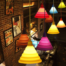 Colorful pendant lights 13 colors DIY pendant lighting 100 cm cord art Deco pendant llamps Modern lamps