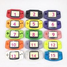 15 kolorów opcjonalnie wymienna obudowa Shell skrzynki pokrywa dla gameboy nintendo Advance dla GBA z ceną fabryczną