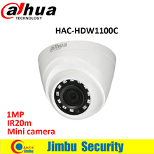 DAHUA HDCVI Camera HAC-HDW1100C DOME 1MP CMOS 720P IR20M IP66 HAC-HDW1100C security camera