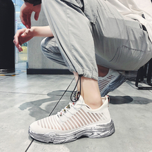Sneakers Men Mesh Running Shoes Breathable Casual Sports Shoes Lace Up Sneakers Lightweight Comfortable Non-slip Male Shoes цена