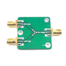 RF Power Splitter RF Microwave Resistance Power Divider Splitter 1 to 2 Combiner SMA DC-5GHz Radio Frequency Divider(China)