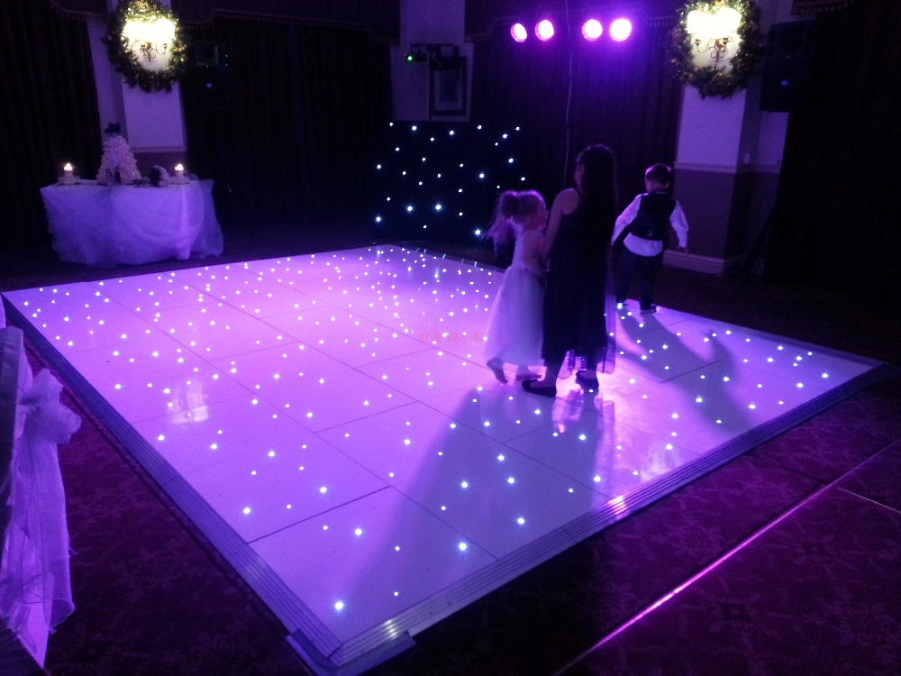 16ft*16ft LED dance floor DMX 512controller wedding dance ...