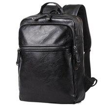 Men's Leather Student Bag